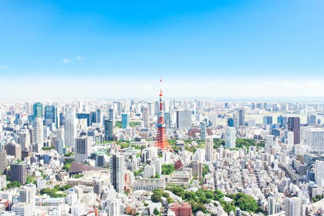 東京都の町並み
