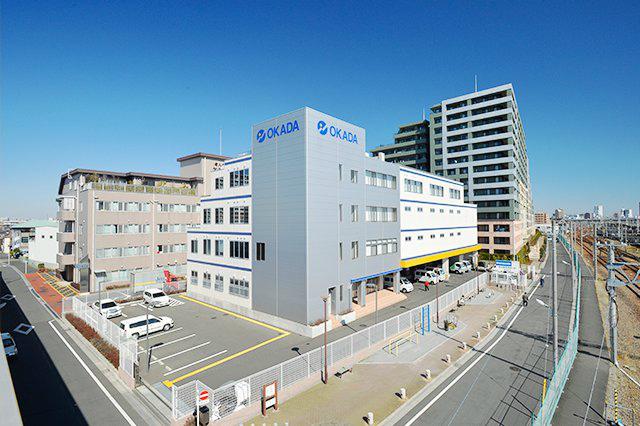 岡田電気産業の外観