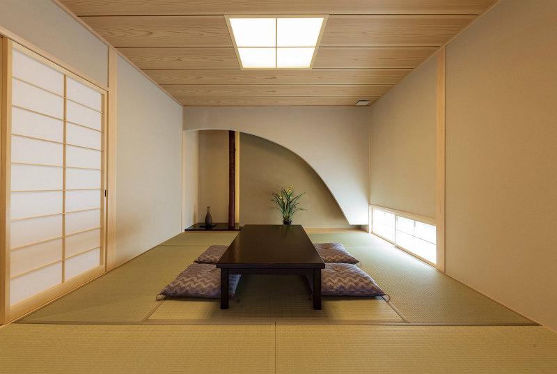 檜家の和室