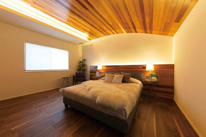 檜家のベッドルーム