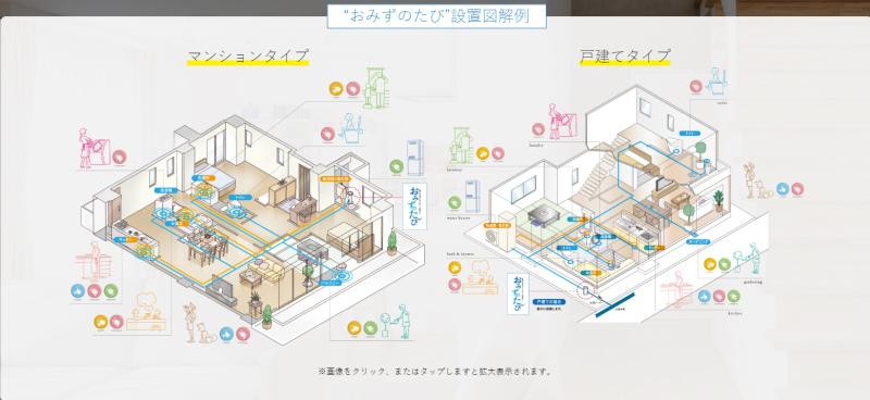 日本クリオおみずたびの導入イメージ