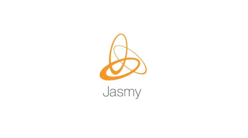 ジャスミーのロゴ