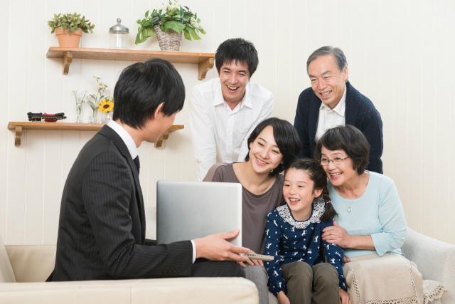 水谷功の営業イメージ
