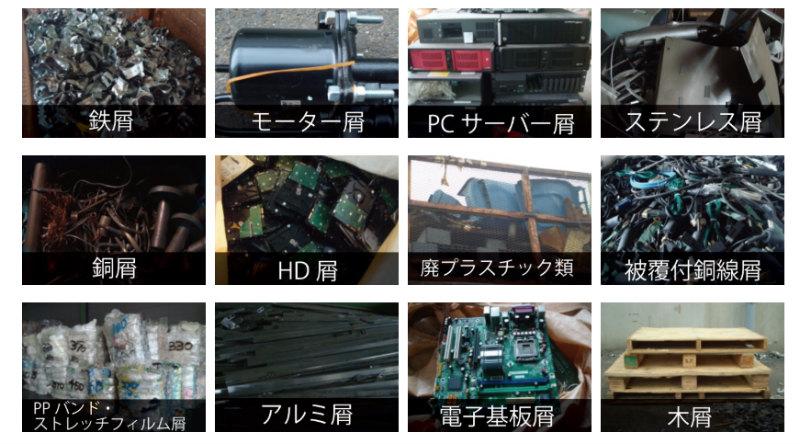 永田紙業の産業廃棄物取扱品目