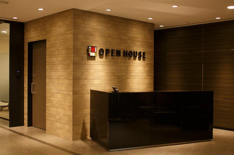 オープンハウスのエントランス