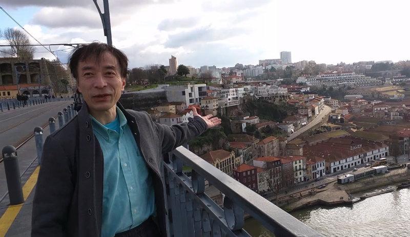トリオアセットマネジメント奥村尚氏のプライベート写真