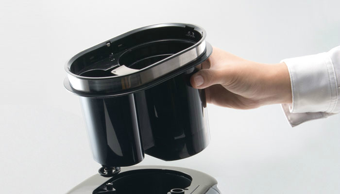 シロカの全自動コーヒーメーカーお手入れ方法