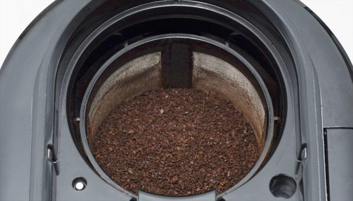 シロカの全自動コーヒーメーカー内部