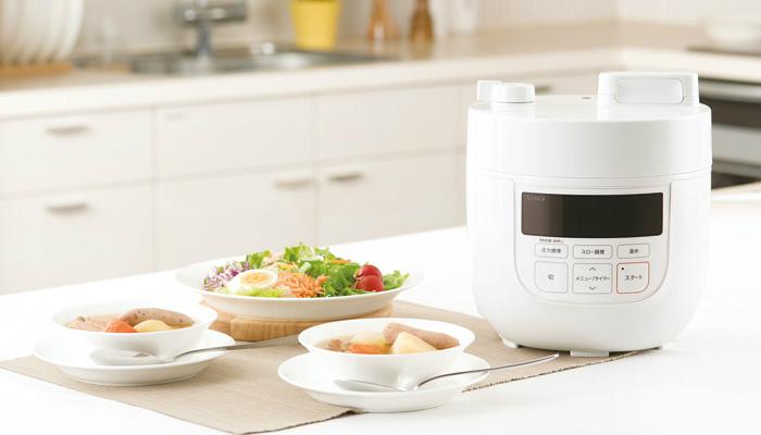 シロカの圧力鍋商品画像