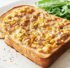 シロカのトースターで焼いたパン