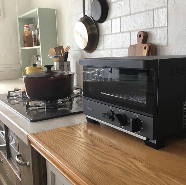 シロカのプレミアムオーブントースター