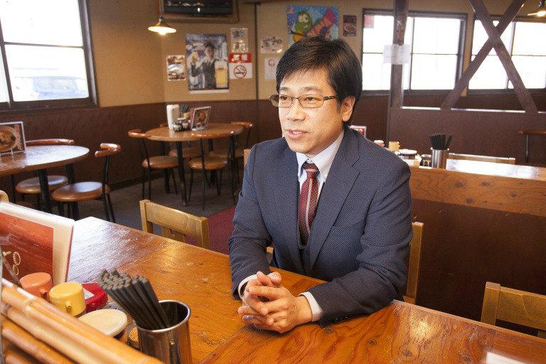 だるまやグループの齋藤雄司氏