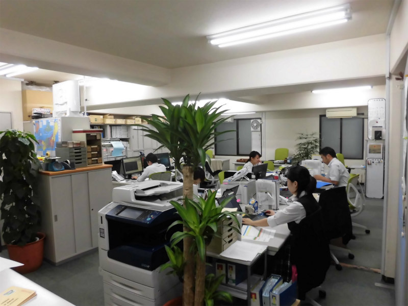 藤崎興産の社内風景