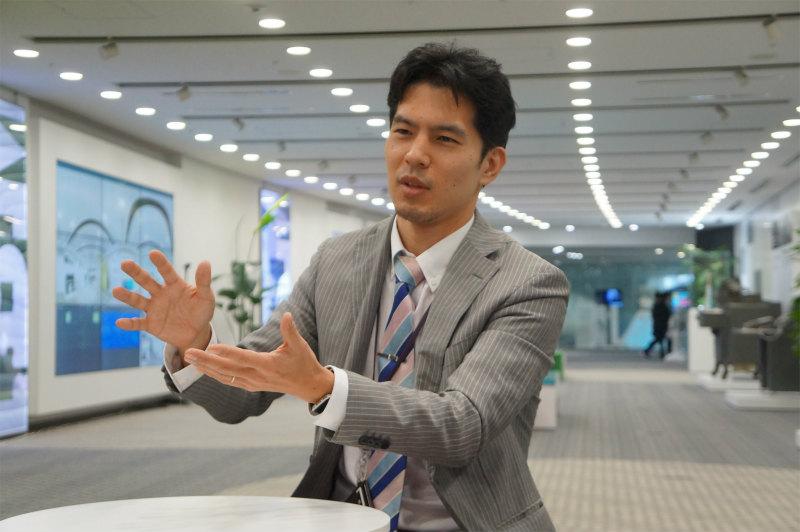 日本IBM米山貴之の顔画像