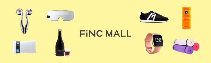 FiNCMALLのサイト画面