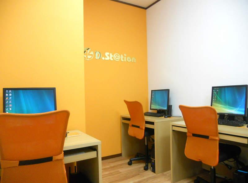ディードットステーションの教室