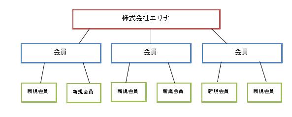 株式会社エリナの販売方法図