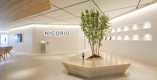 ニコリオの会社エントランス