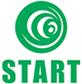 STARTのロゴ