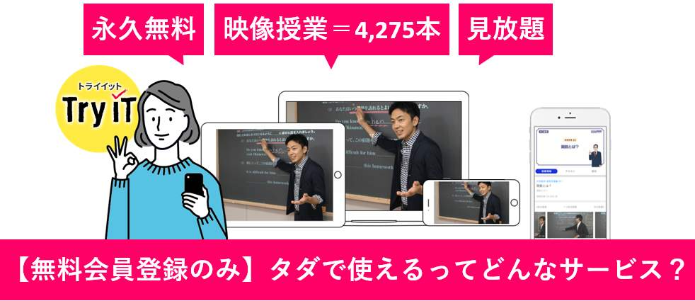TryITはどんな特徴がある?