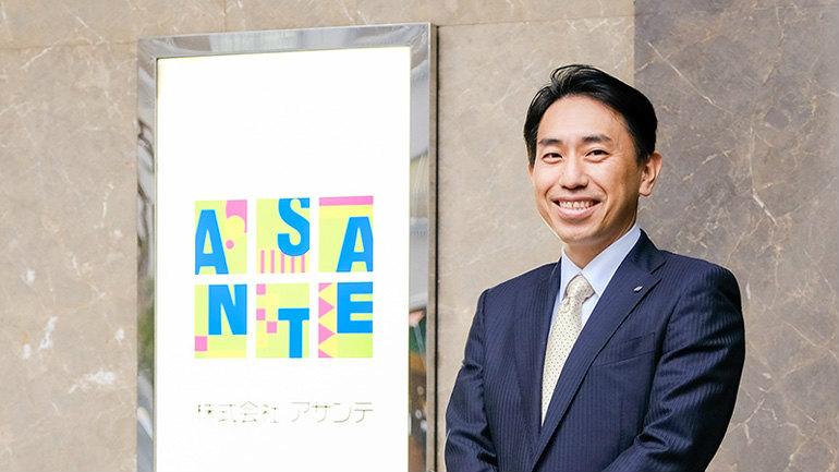 アサンテの代表取締役社長 宮内征