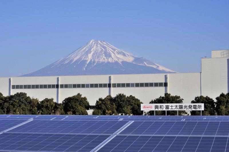 興亜株式会社のソーラー事業