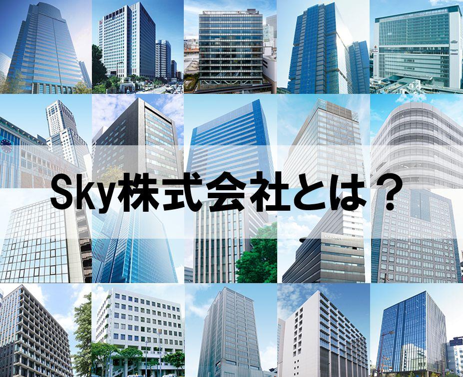 Sky株式会社とは?